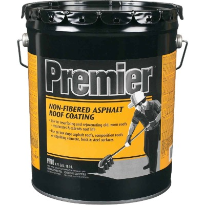 Premier 5 Gal. Non-Fibered Asphalt Roof Coating