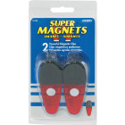 Master Magnetics 3-1/2 In. Red Magnetic Clip (2-Pack) Image 2