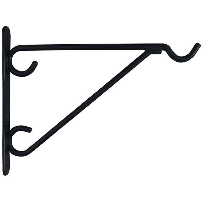 National 12 In. Black Vinyl-Coated Steel Plant Hanger Bracket Image 3