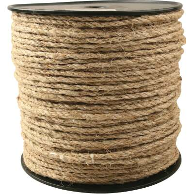 Do it 1/4 In. x 650 Ft. Tan Sisal Fiber Rope