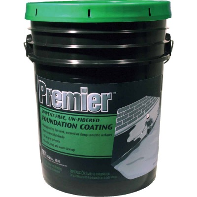 Premier 5 Gal. Solvent-Free Non-Fibered Foundation Coating